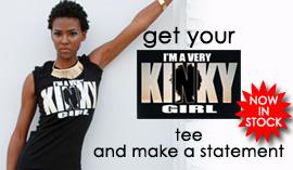 KINKY GIRL TEE